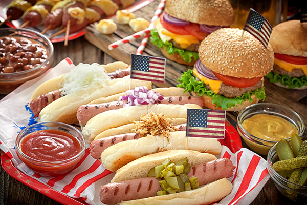 4th July Garden City Cookout eb